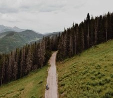 Vail mountains and forests