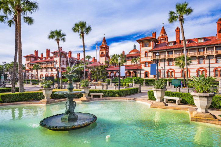 Vacation rental in St Augustine Florida