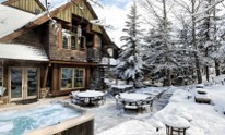 Vail rentals and outdoor area